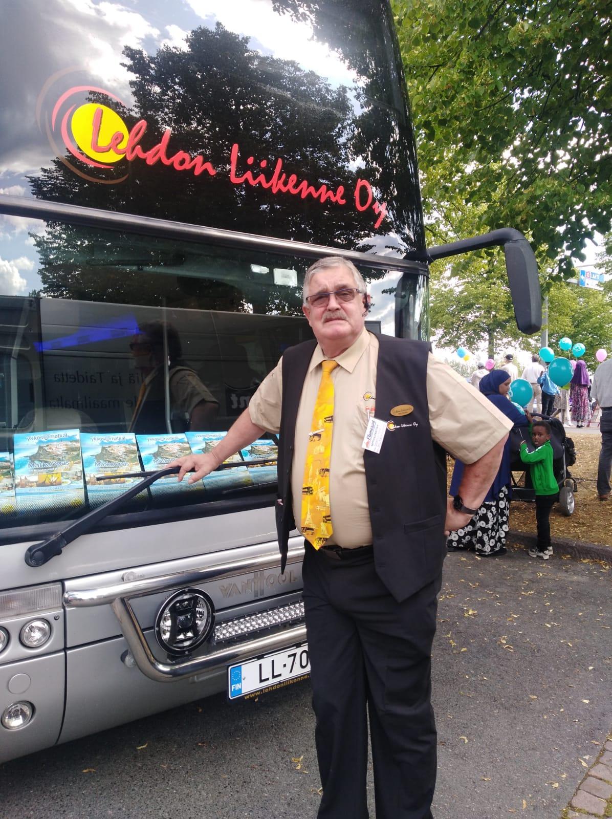 Lehdon Liikenne - Henkilöstö - Kuljettaja - Veli-Pekka