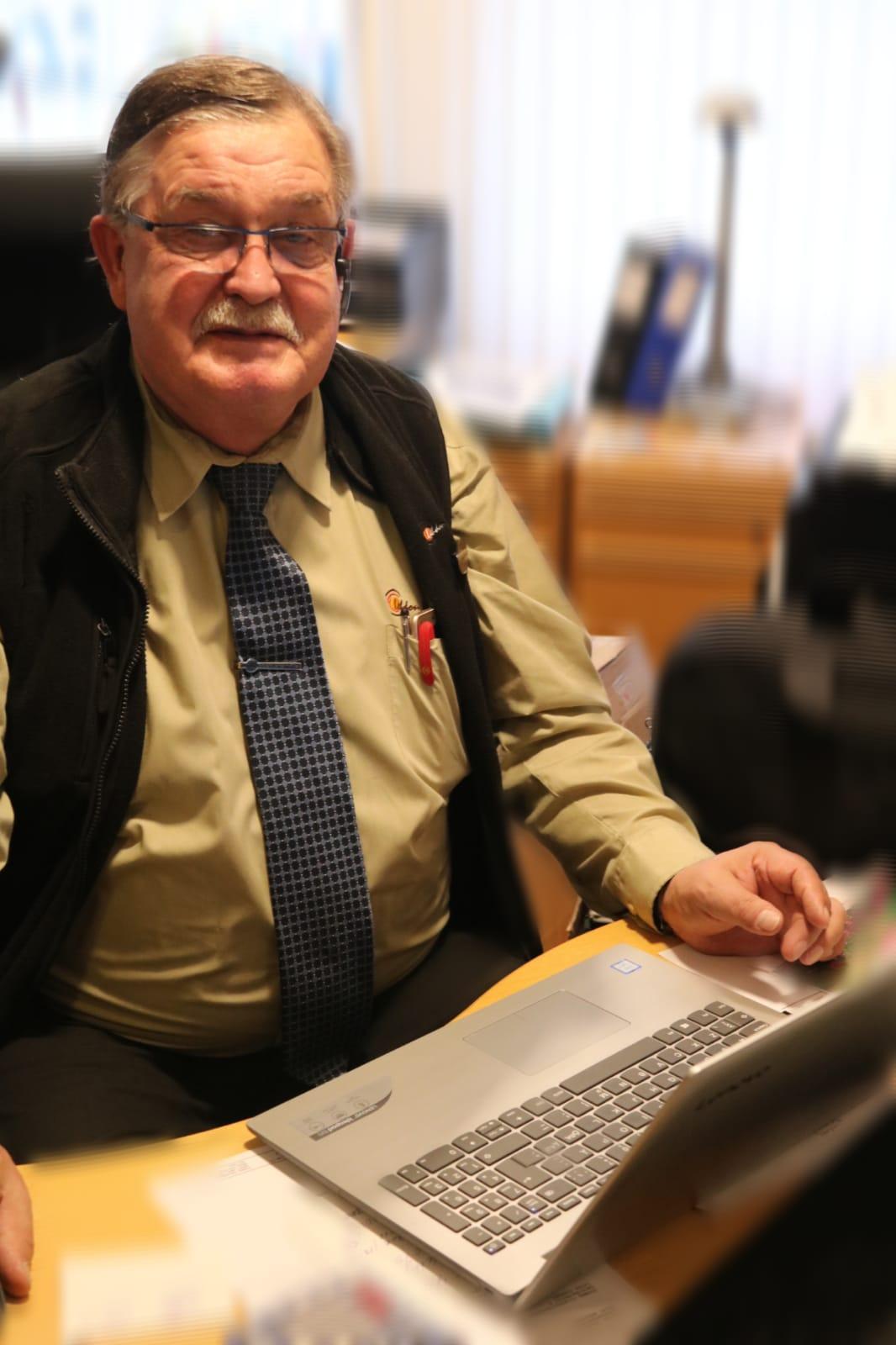 Lehdon Liikenne - Henkilöstö - Toimisto - Veli-Pekka Kulmala