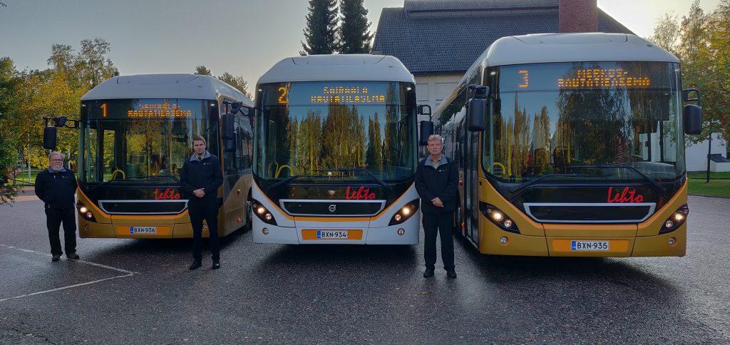 Lehdon Liikenne - Kalusto - Linja-autot - Hybrid - Reittiliikenne