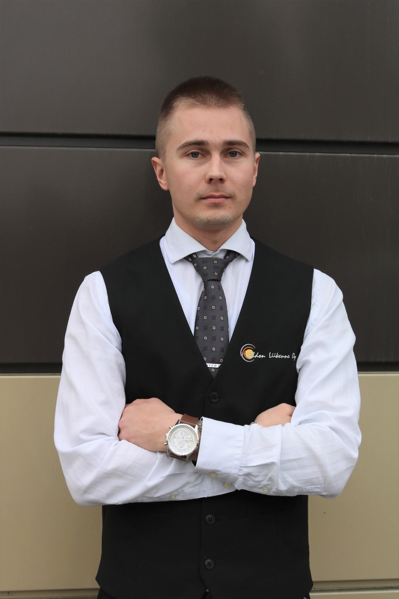 Lehdon Liikenne - Henkilöstö - Toimisto - Markus Tauru