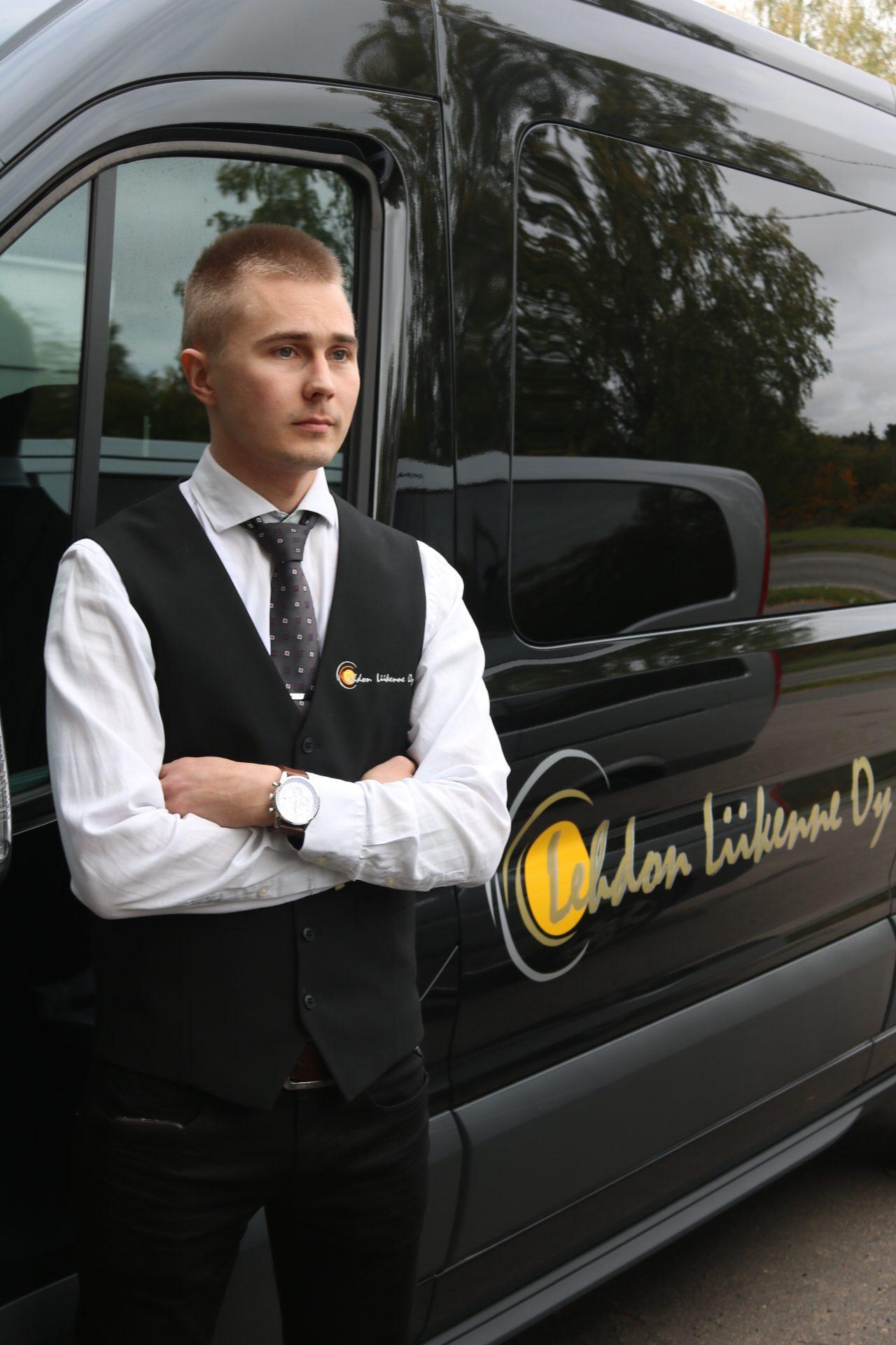 Lehdon Liikenne - Henkilöstö - Kuljettaja - Markus