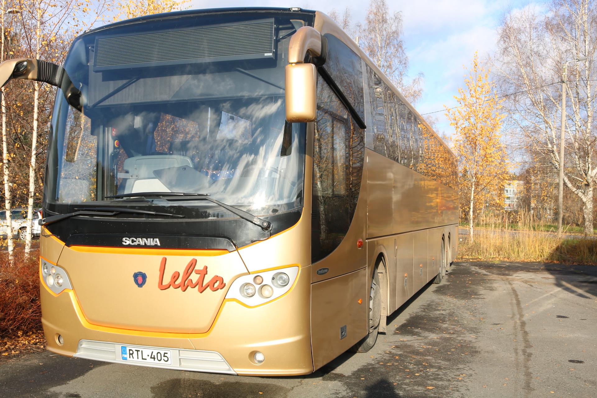 Lehdon Liikenne - Kalusto - Linja-auto - Tilausajo - Wheeler