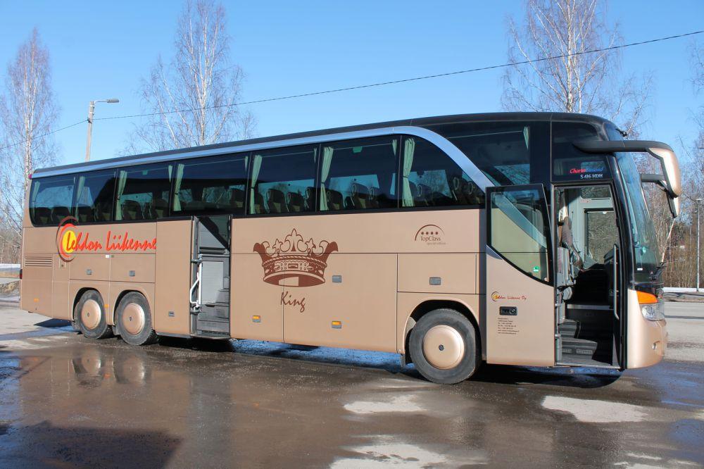 Lehdon Liikenne - Kalusto - Linja-auto - King