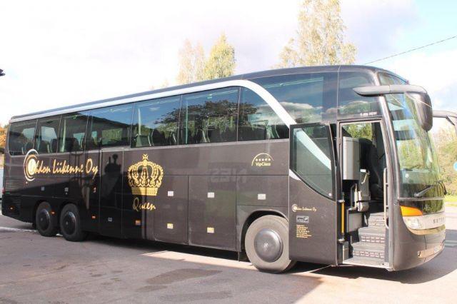 Lehdon Liikenne - Kalusto - Linja-auto - Queen - VIP