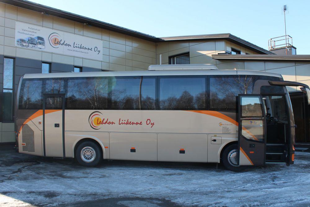 Lehdon Liikenne - Kalusto - Linja-auto - Titan